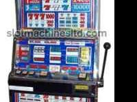 The slot machine was manufactured by a major slot