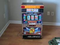 great slot machine in great working order. comes with