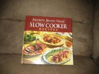 368 page slow cooker book, $10. Call  if interested.