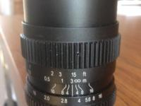 The SLR Magic 17mm lens is standard wide angle lens