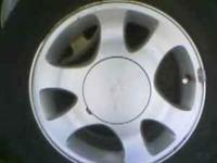SMALL 5 LUG FORD WHEELS THEY ARE IN GOOD SHAPE NEED TO