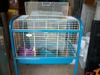 I have several animal cages. 30 gallon glass tank with