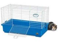 Up for sale is a used cage for guinea pigs and rabbits.
