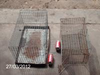 2 small animal cages $10. for one, or both for $15.