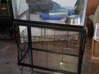 Here is a nice lot for small animals or reptiles.