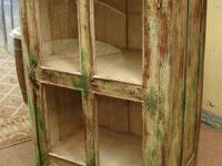 Small Antique Reclaimed Painted Shabby Cupboard Cabinet