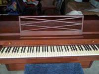 THIS WOULD BE A GREAT LEARNER PIANO,IT IS SMALL BUT