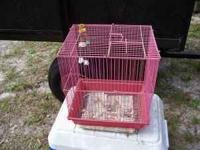 small bird cage good condition asking 10.00 thanks