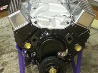 This is a newly rebuilt Chevrolet 5.7 liter 350 engine