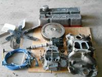 FOR SALE- SMALL BLOCK CHEVY ENGINE PARTS. $350.00. show