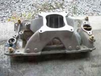 I have for sale 3 Small block chevy aluminum intakes. I