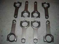 Cam, lifters, rockers are brand new, h- beam rods