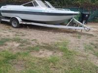 1985 CONROY 17 FEET OPEN BOW WITH THE TRAILER AND HAS 6