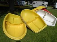 5 Fold-able Boats great for kids, fit in back of van or