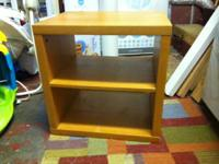 $10 each or $15 for both:  cube bookcase with removable
