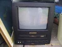 this is a nice color tv with built in vcr, fm radio,