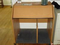 I have a small computer desk for sale. It is in good