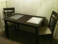 Small Dining Table for sale. Few scratches and some