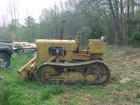 small dozer oliver oc 4, 3 cyl. gas run good , will