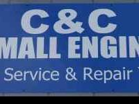 We Service & Repair: Lawnmowers, Weed Eaters, Tillers,