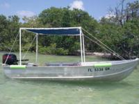 Small fishing boat. Boat, motor and trailer $1,100.