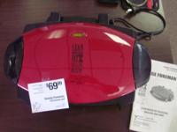 This listing is for a Small George Foreman model GRP46.