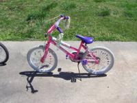 I've got for sale a small girls bike that's in good