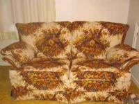 Small Sofa. Older but in good condition. $15.00 Cash