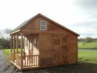 Made of Western Red Cedar, these cabins are very