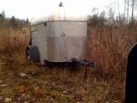 ALUM light weight horse trailer good for hauling what