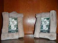 3.5 in X 5 in Log Picture Frames. Regular price $16.99
