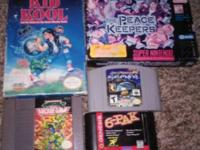 I have some gems im getting rid of frome nes to 64, all