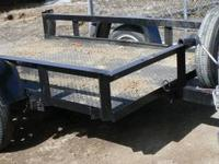 Small Tilt Trailer $599 OBO. CASH Tongue To Tail 109""
