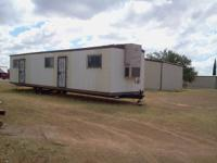 Small 1 or 2 bedroom 1 bath, this small mobile home was