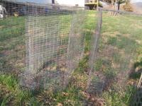 4 wire cages for conure size birds., 1 x 2 galvanized