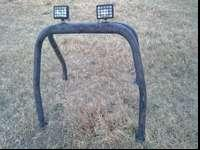 Small pickup roll bar had in a s10 not require. Lights