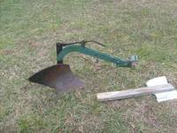 I have a small plow for sale This is great size for big