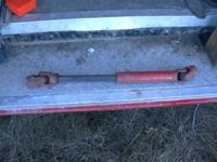 FOR SALE IS A SMALL PTO SHAFT. ASKING 15.00. I BELIEVE