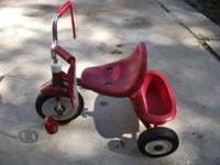 I have a very nice Radio Flyer tricycle in almost new
