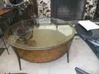 ** SMALL ROUND LIVING-ROOM TABLE **.  PERFECT FOR SMALL
