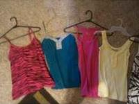 perfect shape, all tank tops for 5.00 call / text