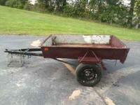I have a small trailer for sale. Could be towed with