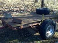 Small all metal trailer $200 obo. please feel free to