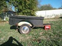 Small trailer for sale 300 obo  Location: Walters