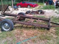Small homemade trailer make offer. // //]]> Location:
