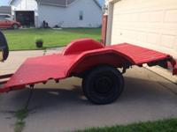 New tires, all metal truck trailer great for hauling