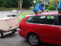 Small home built brand new trailer with an Ironton