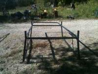 Ladder rack fits a small truck bed. Price negotiable.