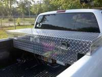 I have a diamond plate toobox for a small truck. In