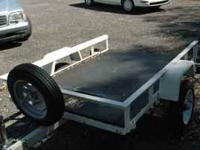 Utility Trailer good for 4 wheeler, Lawn tractor, or a